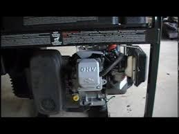 generator repair coleman powermate valve and carburetor