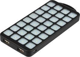 Внешний аккумулятор <b>Qumo</b> PowerAid Tourist <b>Solar</b>, черный ...