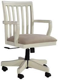 plastic office desk. Signature Design By Ashley Savannah Home Office Desk Chair - Item Number: H583-01A Plastic I