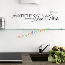 kitchen letter removable vinyl wall stickers mural decal es art home decor