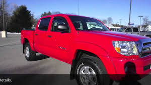 2008 Toyota Tacoma 56k 4x4 Quad Cab in Radiant Red at ...