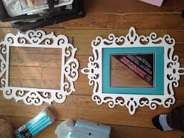 laser cut wood 11x14 frame for wall decoration ideas