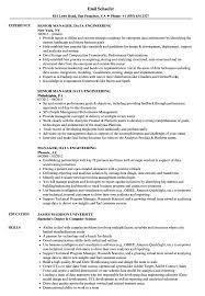 Director Engineering Resumes Manager Data Engineering Resume Samples Velvet Jobs
