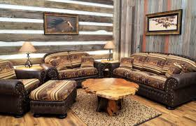 Western Couches Living Room Furniture Western Leather Sofa Living Room Varnished Wood Floating