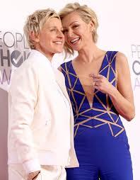 Ellen And Portia Ellen Degeneres And Her Wife Portia De Rossi May Be Moving To