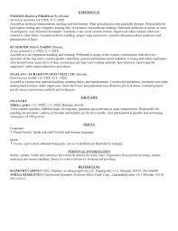 Sample Medical School Resume Resume Builder Vanderbilt Cover Letter Sample For Job Free Sample 69