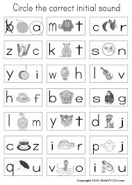 Free Preschool Phonics Worksheets Worksheets for all | Download ...