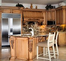 Modern Wooden Kitchen Designs Fancy Kitchens Mesmerizing Color Schemes For Kitchens With Oak