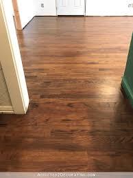Oak Floors In Kitchen My Newly Refinished Red Oak Hardwood Floors