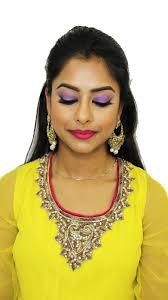 i love this take on an indian bridal look since you still have the drama but you don t necessarily have to go with a traditional metallic gold eye and red