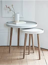 lina side tables grey