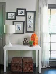 console table decor. Image Of: Entryway Console Table White Decor