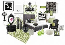 black and white and green bedroom. Black White Grey And Green Bedroom O