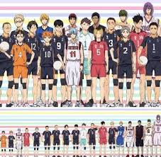 Haikyuu Height Chart Haikyuu X Knb Height Comparisons Haikyuu Kuroko Kuroko