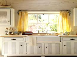 fabric shades for kitchen windows over sink inspiration wondrous double yellow curtain window ideas
