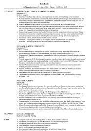 Manager Nursing Resume Samples Velvet Jobs