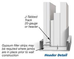 metal framing header detail. Wonderful Framing Shaftwall Door Opening Framing Download A PDF  With Metal Framing Header Detail L