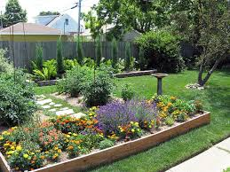 Ideas For Backyard Gardens Concept