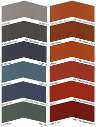 colour swatches for nutech roof paints roof tile paint12