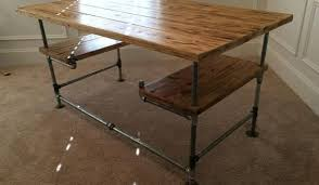 Galvanized Pipe Desk DIY How To Build A Desks Furniture And Room ...