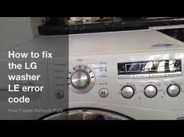 how to fix lg washing machine le error code upgraded 6501kw2002a how to fix lg washing machine le error code upgraded 6501kw2002a part