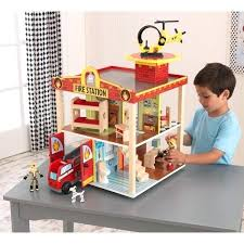 fire station set kidkraft deluxe