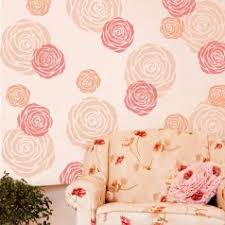 Small Picture Rose Flower Wall Stencil floral stencil designs for DIY wall and