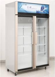 2 door chiller refrigerators