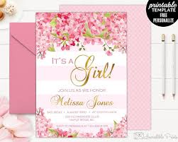 Free Baby Shower Invitations Printable Free Baby Shower Invitations Inspirational Girl Baby Shower