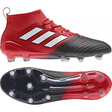 Adidas Ace 17.1 Primeknit Mens Firm Ground Football Boots - Red  Start Fitness