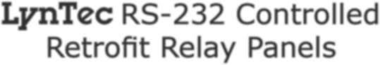 lyntec rs 232 controlled retrofit relay panels