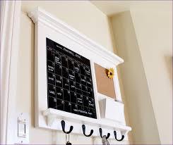 Modern Memo Board Kitchen room Dry Erase Board With Hooks Framed Chalkboard Modern 57