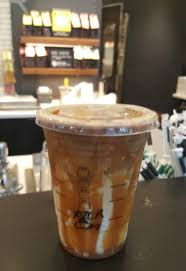 20160917 090329 1 the starbucks iced caramel macchito with extra drizzle
