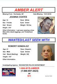 Amber Alert Issued In Western New York