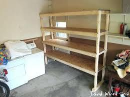build storage shelves build shelf for garage trendy easy build storage shelves wood garage shelf storage
