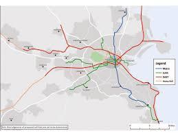 Phoenix Light Rail Stops Map Dublin 20 Year Transport Strategy Published News Railway