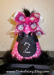 minnie mouse party hat cone hat diy instructions