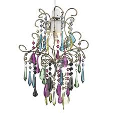 jodi easy fit pendant shade in coloured glass