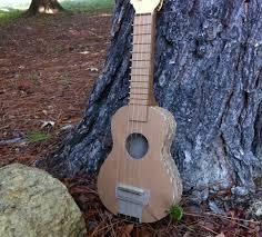 1 diy cardboard ukulele stand do it yourself you com