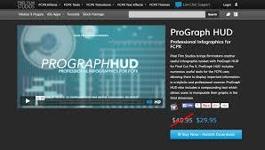 Pixel Film Studios Releases Prograph Hud For Fcpx