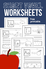 Teach the 21 consonant sounds and short vowel sounds to cover 67 percent of reading words. Short Vowel Worksheets Sample Pack For Cvc Phonics Practice The Homeschool Resource Room