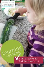 learning life skills list of household tasks for different ages wondering what jobs your child can do around the house a little bit of help children can do just about any task around the house and as they grow