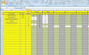 Excel Template Inventory Control
