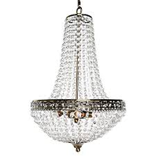 poetic wander by tracy porter 3 light clear chandelier with crystal cut jewels