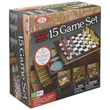 Wooden Board Game Sets Strategy Games Alex Brands 81
