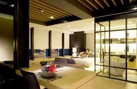 Japanese Dining Set Fascinating Japanese Interior Design With Square Hanging Lamp