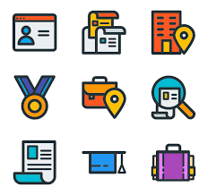 Resume Icons Wonderful 117 24 Resume Icon Packs Vector Icon Packs SVG PSD PNG EPS Icon