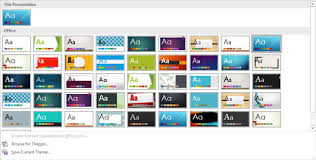 Microsoft Office Ppt Theme Powerpoint 2019s Themes Dummies