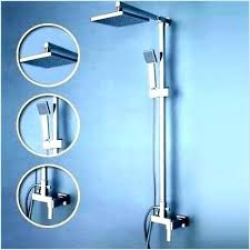 tub spout with handheld shower shower tub spout with handheld shower diverter home depot