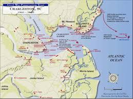 charleston defenses  civil war trust